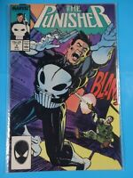 The Punisher #4 1990 1st Microchip app Marvel Comic book