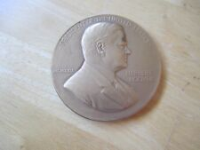 President Herbert Hoover Inaugurated March 4, 1929 Large Bronze MEDAL,