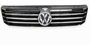 2012-2013 VW Volkswagen Passat Front Radiator Grille With Chrome & Emblem OEM
