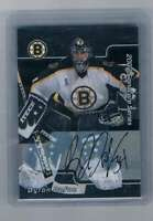 2001-02 Signature Series Autographs #LBD Byron Dafoe NM-MT NM-MT SP Auto Bruins