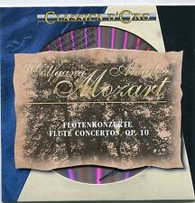 CD - Wolfgang Amadeus Mozart - Flötenkonzerte Op. 10