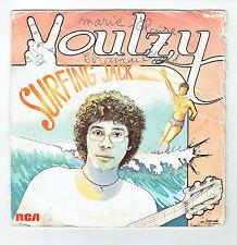 """Laurent VOULZY Vinyle 45T 7"""" SURFING JACK - DES LARMES - PB 8590 F Réduit RARE"""