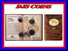 "2010 Uncirculated Australian Two Coin Mint Set: ""Burke & Wills."""