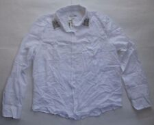 Aeropostale A87 White Long Sleeve Button Down Casual Shirt Size XL Slim Fit P$54
