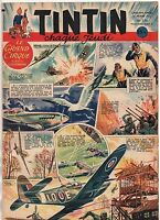 TINTIN n°174 - 21 février 1952. Bel état