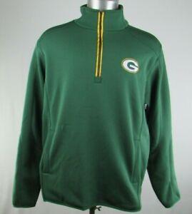 Green Bay Packers NFL G-III Men's Quarter-Zip Pullover