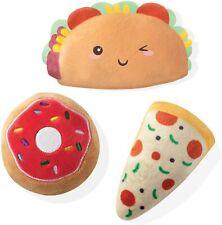 "Pet Shop by Fringe Studios- Trendy Food, 3 Piece Dog Toy Set, 5""- Free Shipping"