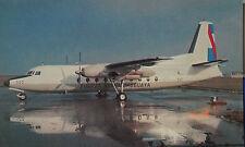 Fokker F-27 MK 100 Fuerza Aerea Uruguaya Postcard