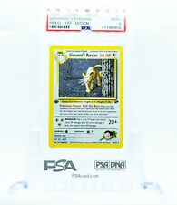 Pokemon Card: 1st Edition GIOVANNI'S PERSIAN 2000 Gym Challenge Set PSA 9 MINT