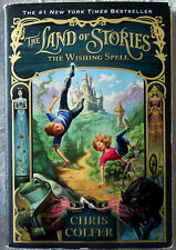 Chris Colfer: The Land of Stories The Wishing Spell Signed Softcover