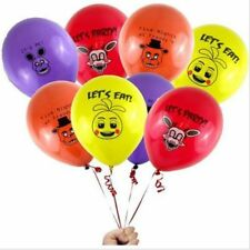 "8PCS Five Nights at Freddy's 12"" Colorful FNAF Printed Latex Party Balloons."