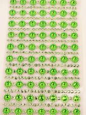 Green Plastic Scrapbooking Embellishments