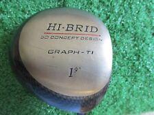 Hi-Brid 9 *  graph-Ti driver 3D concept design/Penley 64g S-flex graphite Men RH