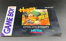 Original Anleitung / manual zu dem Gameboy Spiel Hugo