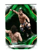 WWE Bobby Roode #14 2019 Topps Undisputed Green Parallel Card SN 12 of 50