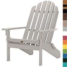Pawleys Island Folding Adirondack Porch Chair Poly Durawood Outdoor Furniture