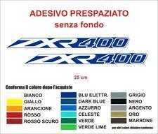 Kit Adesivi Kawasaki ZXR 400 decals fianchetti stickers moto auto kawa