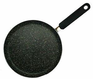 Non Stick Crepe Pan Pancake Maker Induction Gas Frypan Shallow 25cm Pendeford