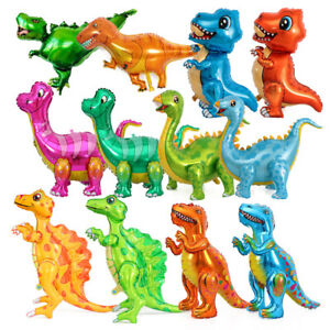Dinosaur Tyrannosaurus Triceratops Aluminum Film Balloon Birthday Theme Party D