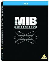 Men In Black Trilogy Series 1-3 MIB Complete 1 2 3 Collection Boxset New Blu ray