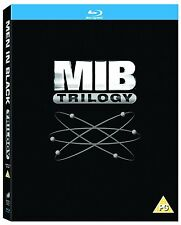 Men In Black [MIB] Complete Movie Trilogy Film 3 Discs Blu ray Collection Boxset