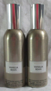 White Barn Bath & Body Works Concentrated Room Spray VANILLA BEAN Lot Set of 2