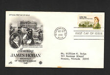 SCOTT# 1935 James Hoban U.S Art Craft Cachet First Day of Issue Envelope