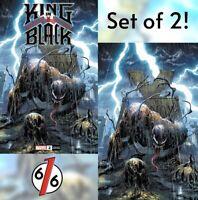 🚨🕸🔥 KING IN BLACK #2 TYLER KIRKHAM EXCLUSIVE VARIANT Set of 2 NM Gemini