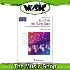 New HLSPL Jazz Hits for Piano Duet Music Book - Hal Leonard Student Piano