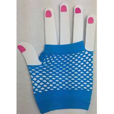 Fashion Women Elastic Goth Dance Costume Lace Fingerless Fishnet Mesh Gloves