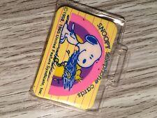 Vintage SNOOPY Telephone Card Set