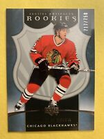 2005-06 Upper Deck Artifacts Rookies #259 Duncan Keith 717/750 Chicago BH SP RC