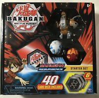 NEW ~ BAKUGAN Battle Planet Resurgence Starter Set AURELUS NOBILIOUS