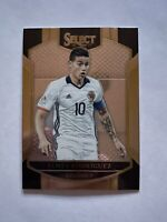 2016-17 Panini Select Soccer James Rodriguez Colombia Terrace Card #40