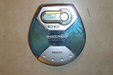 CD personal Philips AX2101 reproductor de CD-R CDR Discman Walkman con 12 segundo ESP
