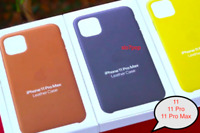 iPhone 11, 11 Pro, 11 Pro Max Apple Echt Original Leder Schutz Hülle - 5 Farbe