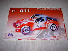 "IDEAL REVENDEUR LOT DE 18 PUZZLE EN 3D "" porshe 911 en couleur """