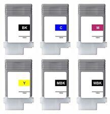 6x Tinta para Canon IPF680 ipf685 iPF770 IPF780 IPF785 pfi-107