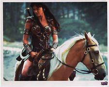 Xena 8X10 litho lithograph photo photograph Season Four 4 Xena rides Argo