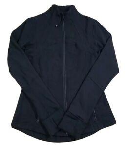 LULULEMON Size 8 Black Define Jacket Sweater Full Zip Stretch Vented Track Gym