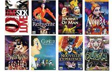 DVD Cirque DU SOLEIL - (8 DVD Theater/Kabarett) neu