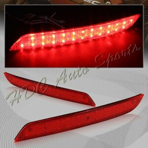For 2011-2016 BMW 528i 535i 550i Sedan SMD LED Rear Bumper Stop Brake Light Lamp
