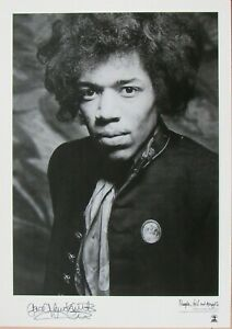Gered Mankowitz Jimi Hendrix Limited Edition Print  6 of 50 Signed