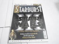 #319 STARBURST science fiction tv  magazine (UNREAD) STAR WARS