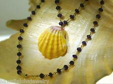 "30mm Genuine Hawaiian Sunrise Shell Pecten Langfordi Amethyst Necklace 18.75"" #2"