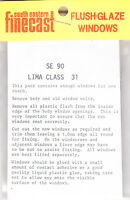 South Eastern Finecast SE90 Flush Glazing Kit Lima Class 31 Diesel Loco 00 1st
