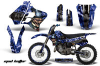 Graphic Kit Decal Sticker Wrap + # Plates For Yamaha YZ125 YZ250 93-95 MAD K U