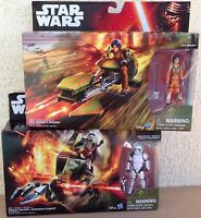 Star Wars lot Hasbro Ezra Briders Speeder Assault Walker Stormtrooper Sergeant