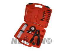 Hand Held Vacuum Pump Test Brake Bleeding Car Van Garage Tool Kit Bleeder Set