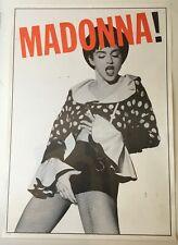 Madonna   Justify My Love   Original UK 1990 Poster